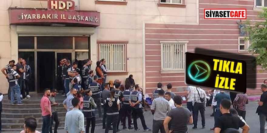 Diyarbakır'da vatandaşlar HDP binasına girmek istedi