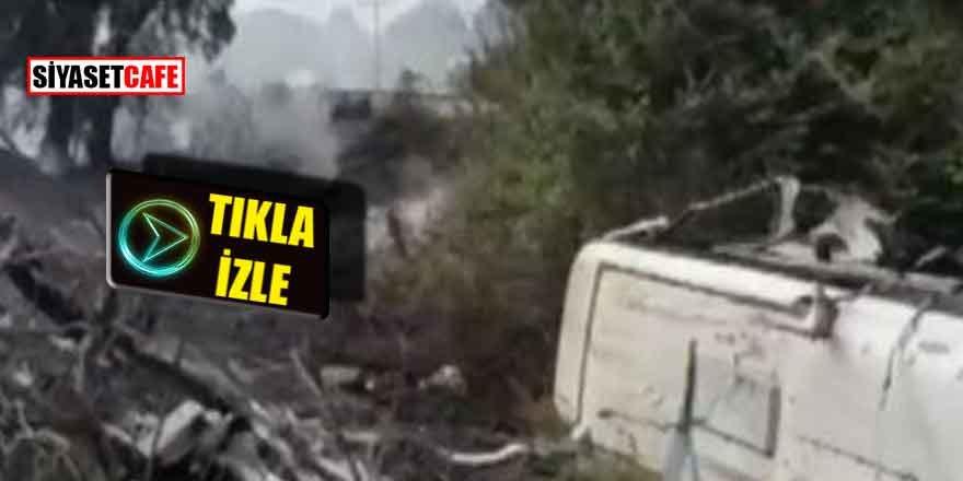 Aydın'da otobüs kazası: Çok sayıda yaralı var