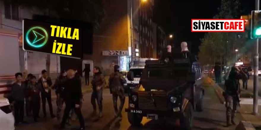 Esenyurtta polisle çatışma: Yaralılar var