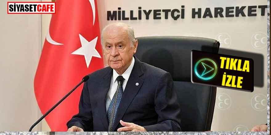 MHP Lideri Bahçeli Genel Merkez'de