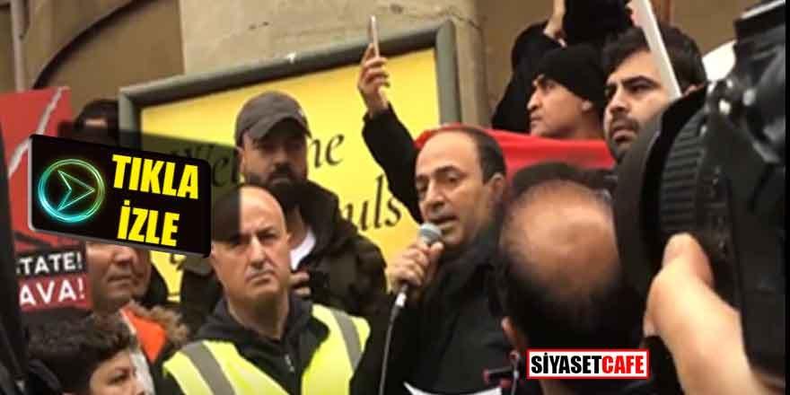 HDP'li Baydemir İngiltere'den Türkiye ve Erdoğan'a hakaretler yağdırdı