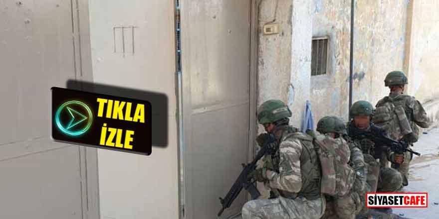 Komandolar DEAŞ hapishanesine girdi; İçerisi bomboş