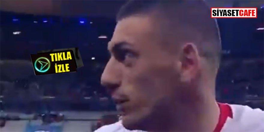 Maç sonrası Merih Demiral'dan kalplere dokunan açıklama