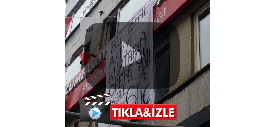 CHP binasına şok işgal