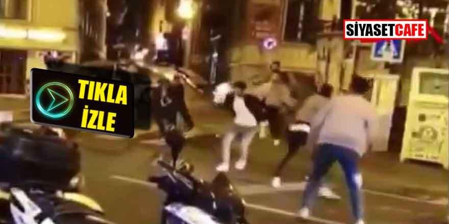 İstanbul Taksim'de meydan savaşı çıktı