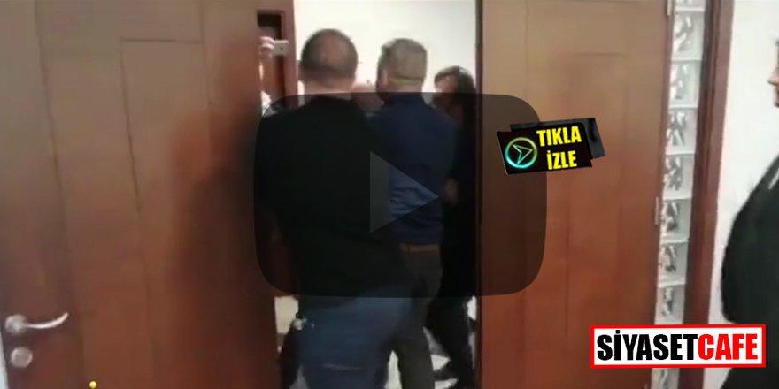 Denizlispor'un eski başkanı basın toplantısını silahla bastı