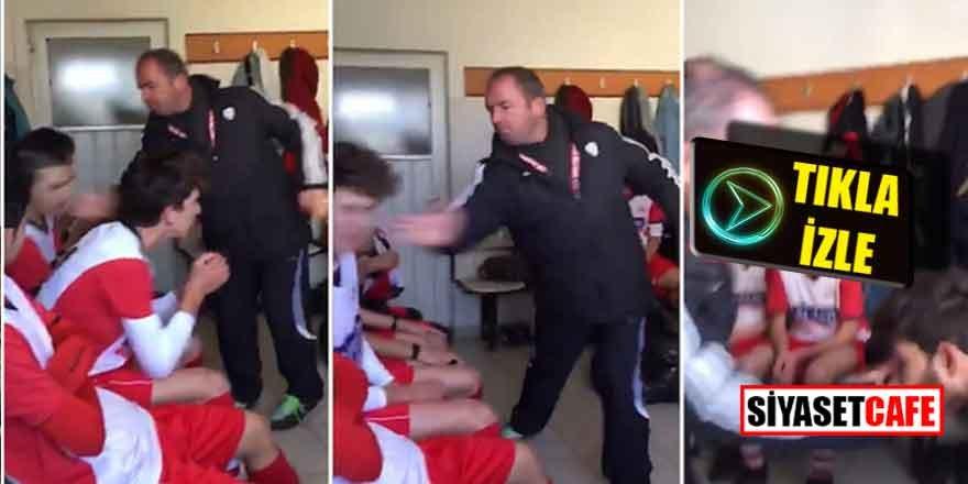 Kayseri'de antrenör rezaleti; Çocukları dayaktan geçirdi