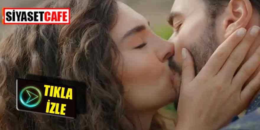Hercai dizisinden çok konuşulan öpüşme sahnesi