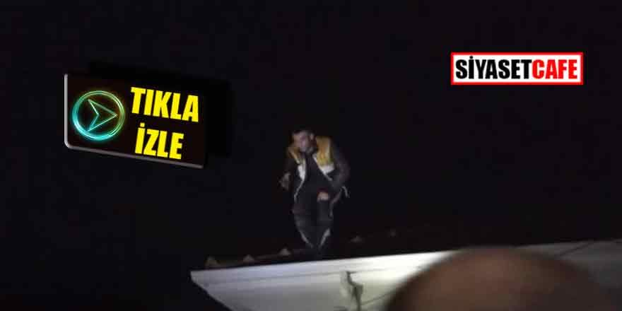 Bursa'yı ayağa kaldırdı: Polisle çatıştı, mermisi bitince çatıya çıktı