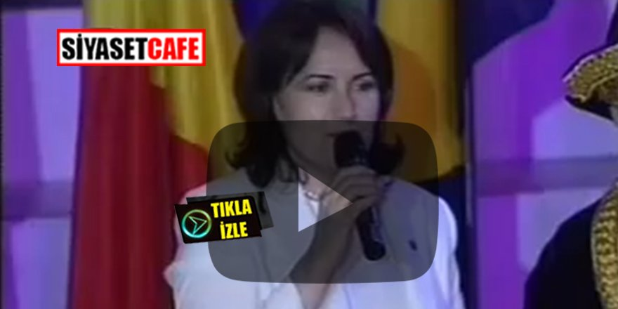 Meral Akşener'in 4.Türkçe Olimpiyatı konuşması