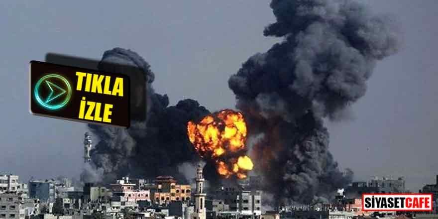SON DAKİKA...İslami Cihad yüzlerce füze ile İsrail'e saldırdı