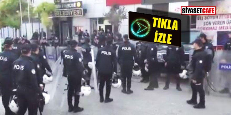 HDP'li vekili polis süpürdü
