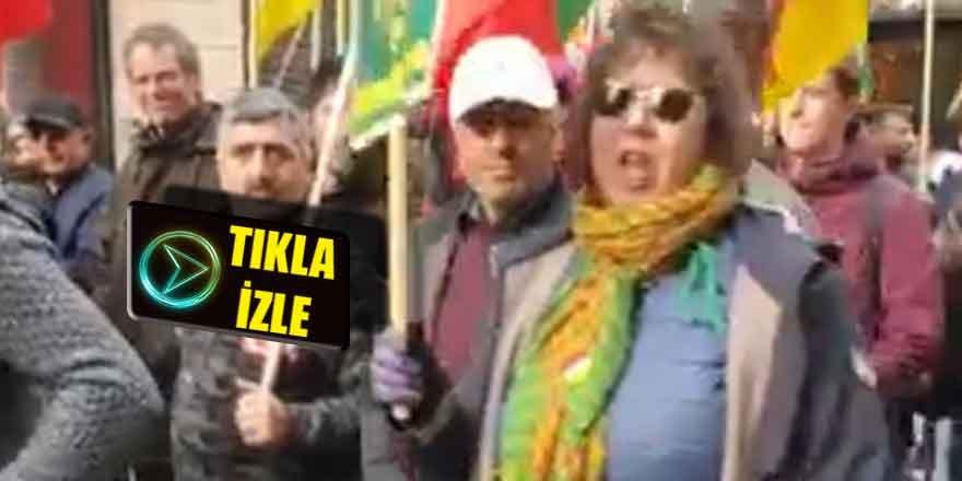 Fransız kadından alkışlanacak sözler; Kahrolsun PKK, Ne Mutlu Türküm Diyene