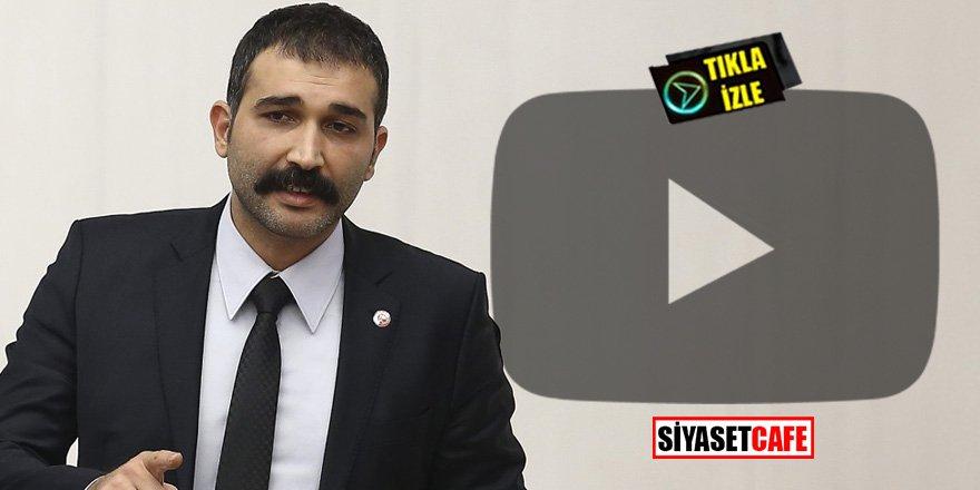 Barış Atay meclis kürsüsünden devleti tehdit etti! Gezi'yi mumla arayacaksınız