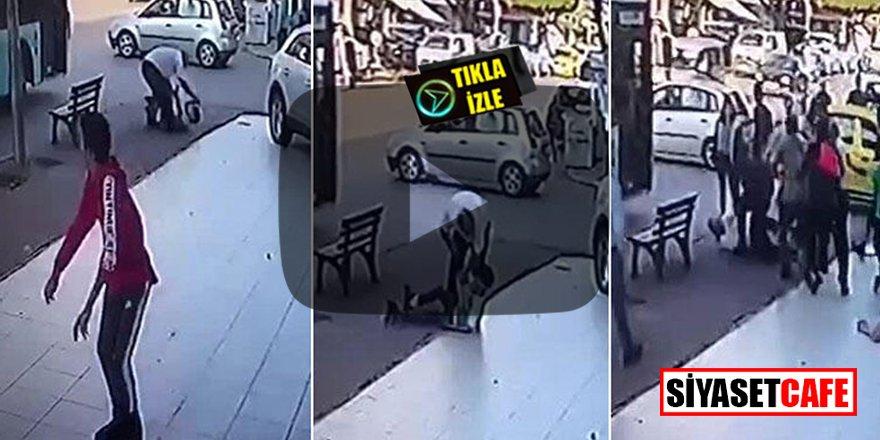 Antalya'da çocuğu döven şoföre meydan dayağı