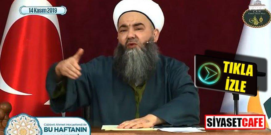 """Cübbeli'den Saadet vekiline şok sözler; """"Sen nasıl Müslümansın"""""""