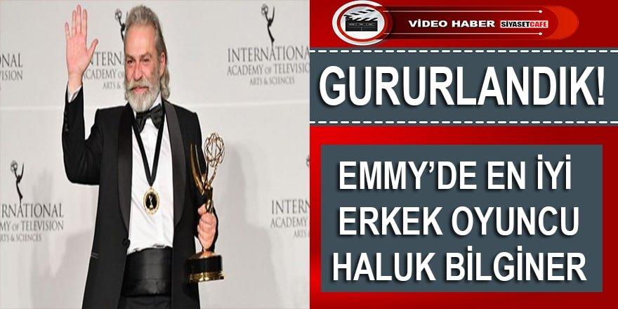 İşte Türkiye'ye ilk Emmy Ödülü Getiren Haluk Bilginer'in Türkiye vurgusu