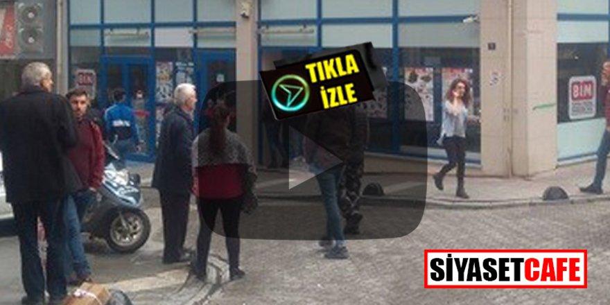 Çanakkale Biga'da BİM markette silahlı soygun!