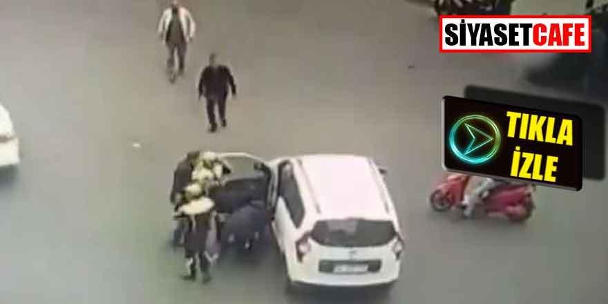 Diyarbakır'da dili boğazına kaçan kişiyi polis böyle kurtardı