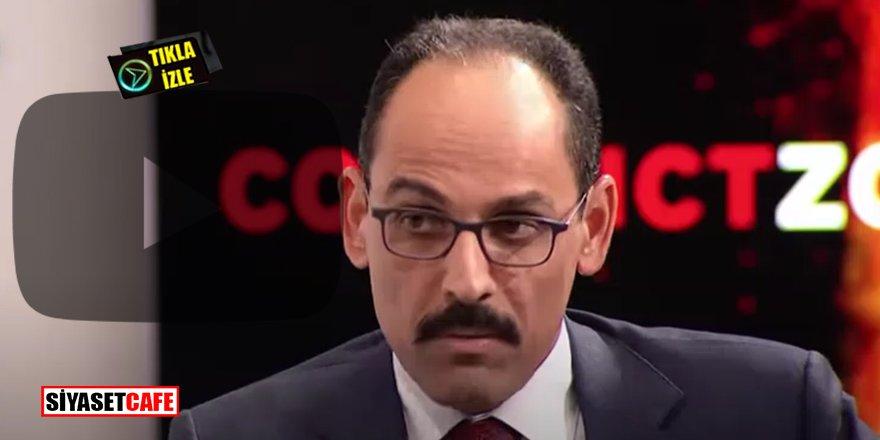 Cumhurbaşkanlığı Sözcüsü İbrahim Kalın: 5 yıldır 7 milyon Suriyeli'ye bakıyoruz