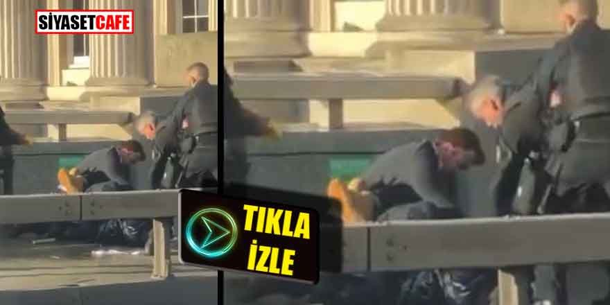 Son Dakika! Londra Köprüsü'nde  polis bir vatandaşı öldürdü.