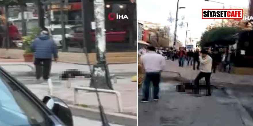 Sokak ortasında cinayet! Eniştesini öldürdü, başında bekledi