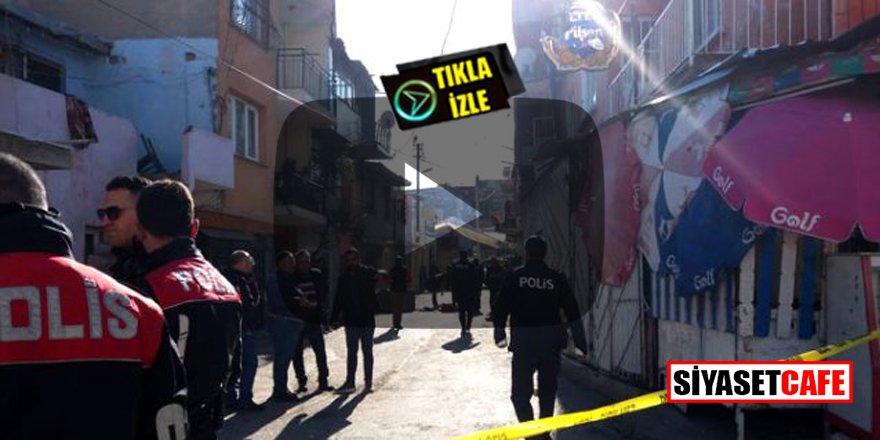 İzmir'de mahalle ortasında silahlar patladı! 10 kişi yaralandı