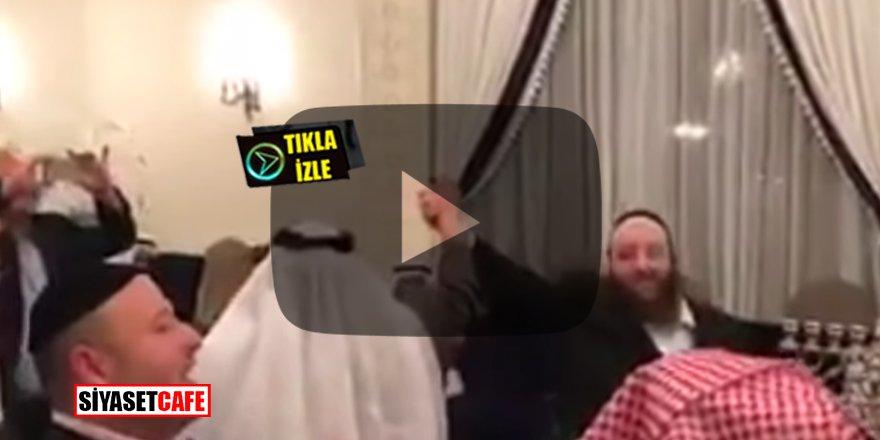 Suudi'ler Yahudi-Vahabi dostluğunu böyle kutladılar! İnanılmaz görüntüler