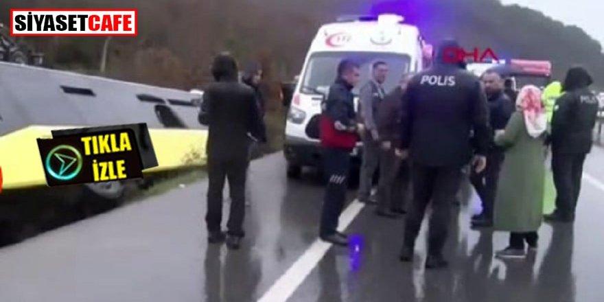 Çekmeköy'de İETT otobüsü kazası: 1 ölü