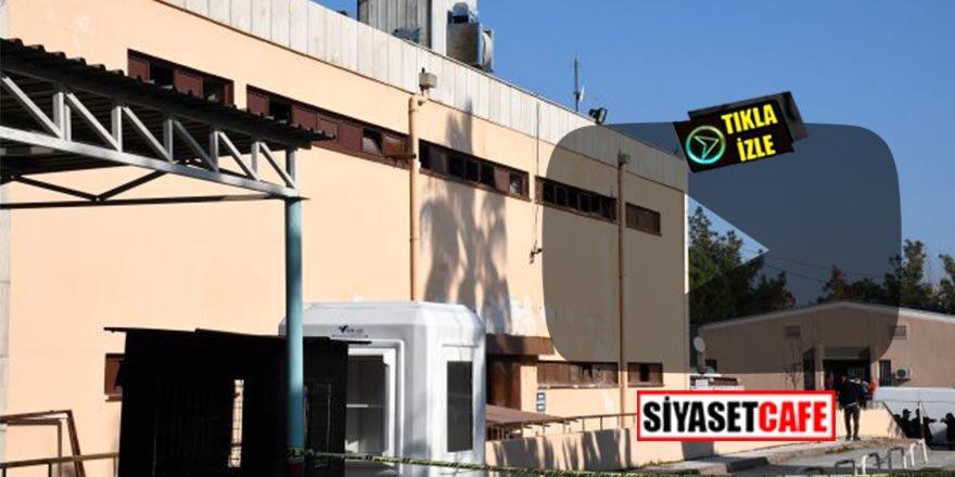 Mersin'deki devlet hastanesinde patlama! Yaralılar var