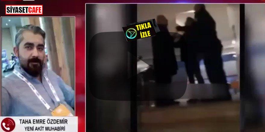 Kumar masasında yakalanan AK Parti'li vekil muhabirlere saldırdı!