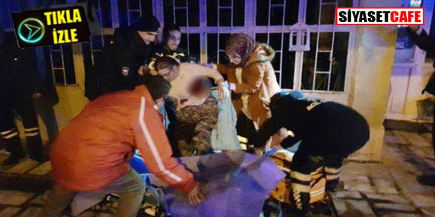 Manisa'da annesini sokak ortasında defalarca bıçakladı