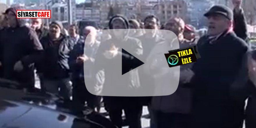 Şişli Belediyesi'ni ziyaret eden İmamoğlu protesto edildi! Yuhalandı