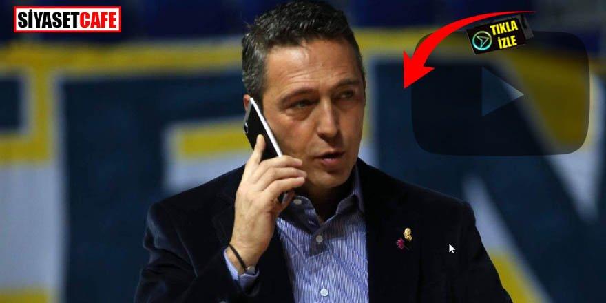 Trabzon'da Ali Koç'a büyük tepki!