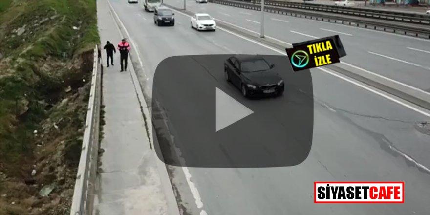 İstanbul'da korkutan görüntüler: E-5 trafiğe kapatıldı