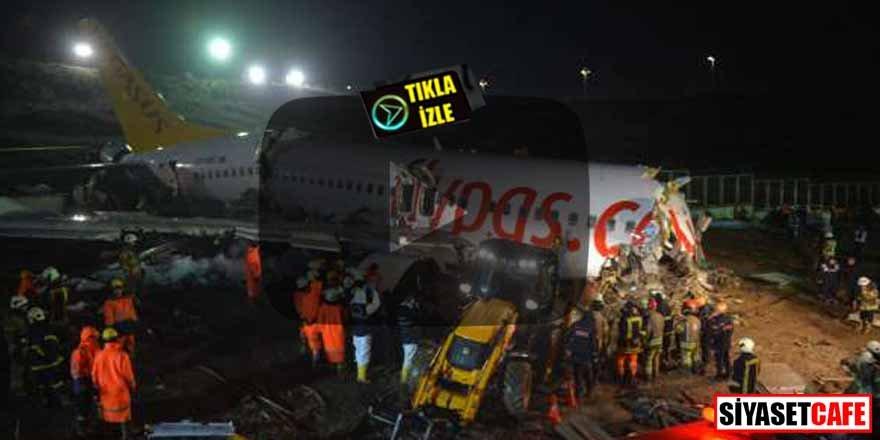 Uçak kazası ile ilgili detaylar ortaya çıktı! Resmen ölüme inmiş