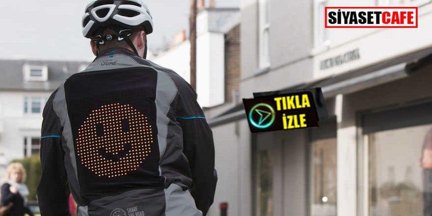 Bisikletlilerin yeni gözdesi: Emoji ceketi!
