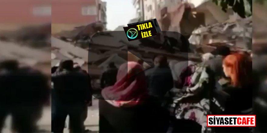 Son dakika: Bahçelievler'de 7 katlı bina çöktü