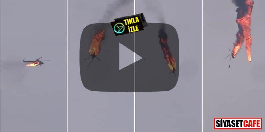 Esed'in bir helikopteri daha işte böyle düşürüldü!