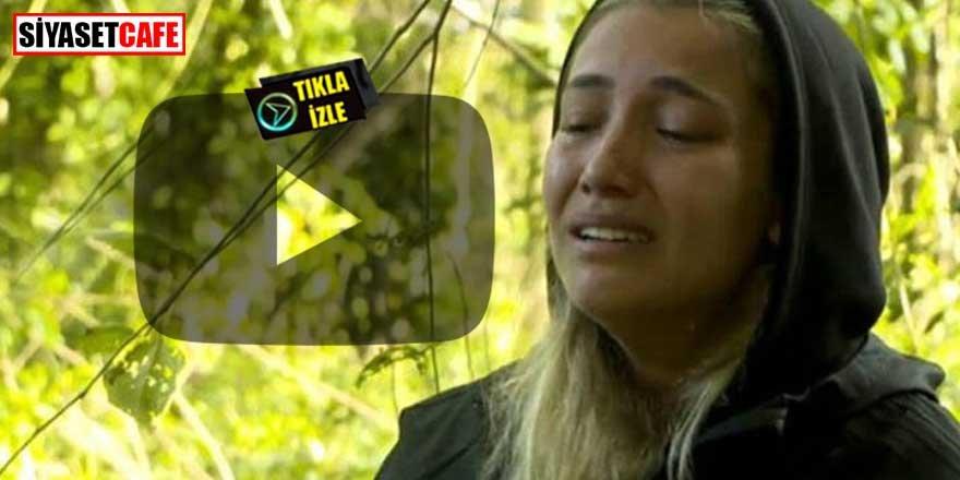 Survivor'dan ilk görütüleri paylaştı! Yarışmacı hıçkıra hıçkıra ağladı