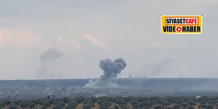 TSK'dan ağır darbe! Neyrab askeri havaalanı vuruldu