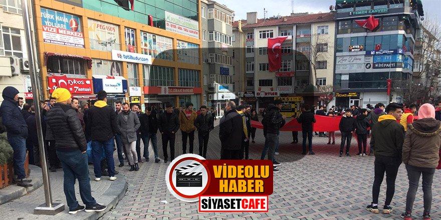 Şehitleri anma programında Suriyeli öfkesi! Yanlışlıkla Türkleri dövdüler
