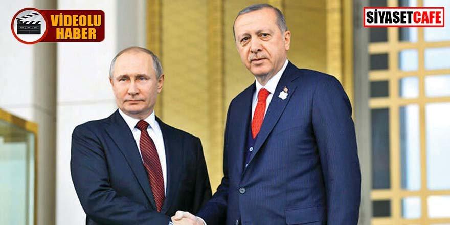 Erdoğan ve Putin Moskova'da bir araya geldi