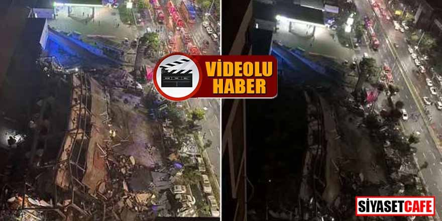Son dakika! Çin'de korona oteli çöktü... 70 kişi enkaz altında