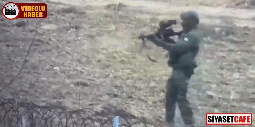 Yunan askeri sığınmacılara otomatik tüfeklerle ateş açtı