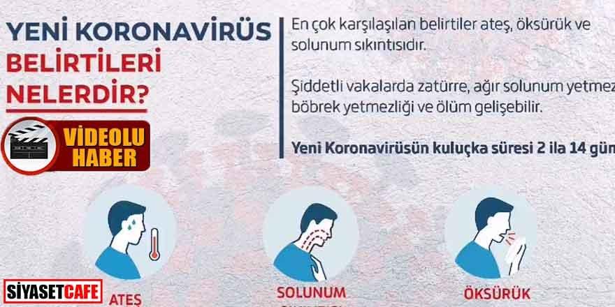 Sağlık Bakanlığı'ndan koronavirüs için yeni bilgilendirme!