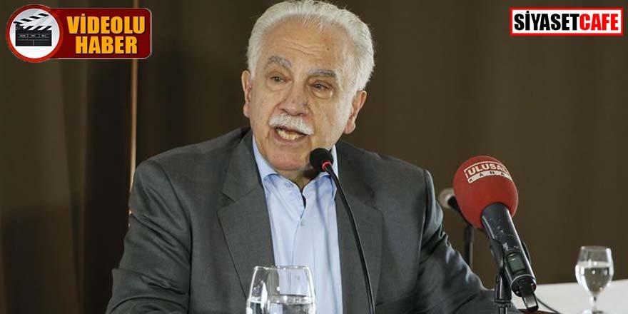 Perinçek; Erdoğan'nın PKK'yı bitirme çağrısı son derece önemlidir. Suriye buna hazırdır.