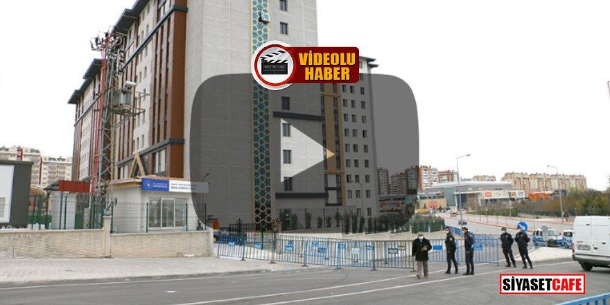 Konya'da umreciler karantinadan kaçmaya çalıştı