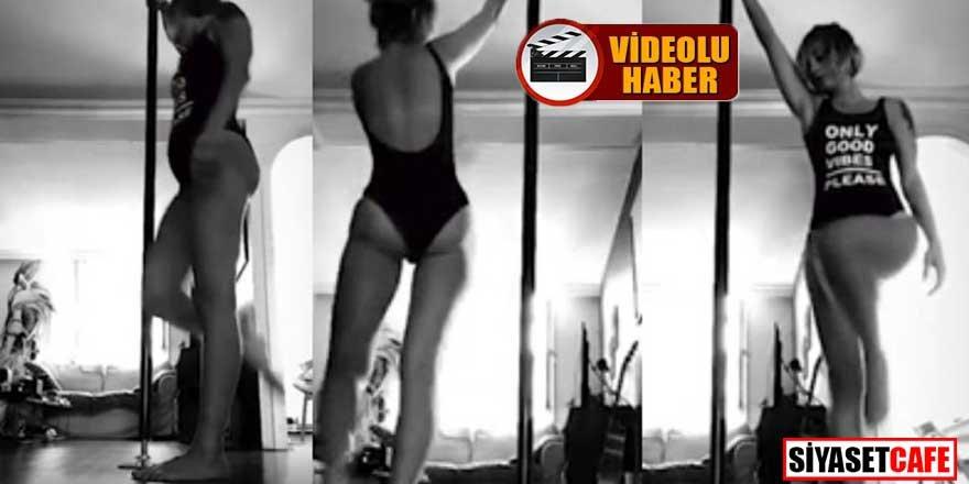Güliz Ayla'yı kızdıran striptiz videosu sorusu!