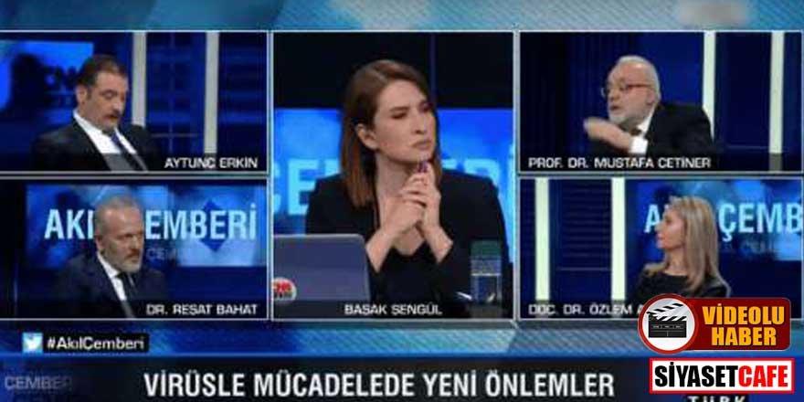 Prof. Dr. Mustafa Çetiner'den süper bulaştırıcı itirafı: Onlarca kişiye virüs bulaştırdı